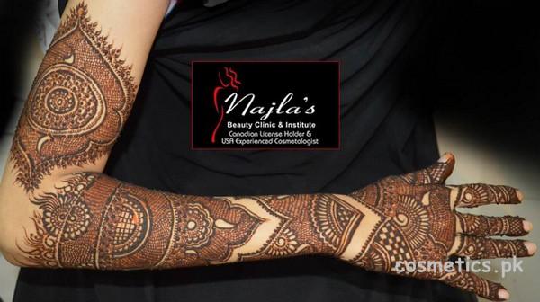 Najla S Beauty Parlour Bridal Makeup Charges