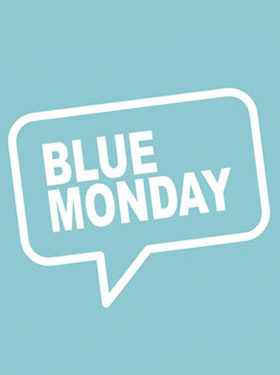 Monday blues, monday blue playlist, if Monday had a face