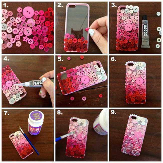 Easy Steps To Diy Phone Case Women S Own Magazine